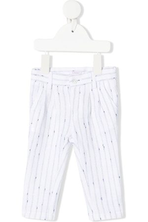 Le Bebé Enfant Striped slim-cut trousers