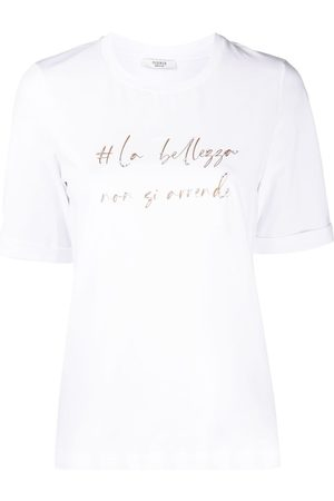 PESERICO SIGN Graphic-print cotton T-Shirt