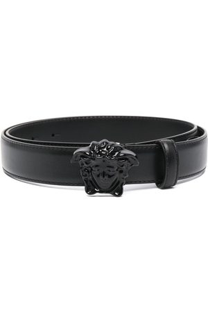 VERSACE Palazzo Medusa-head leather belt