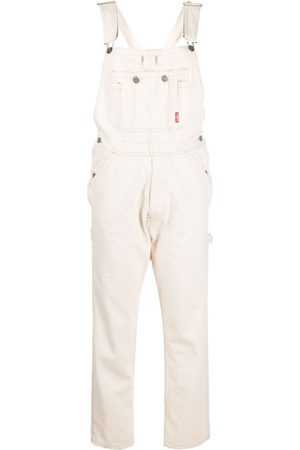 Denimist Slim-fit cotton dungarees