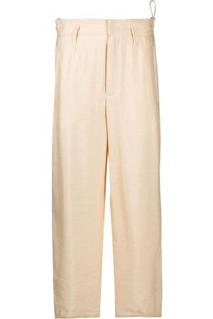 FORTE FORTE Concealed-front trousers