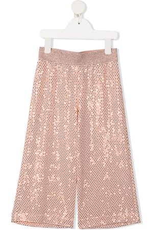 Caffe' D'orzo Rachelle sequinned trousers