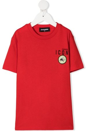 Dsquared2 Icon fly patch T-shirt