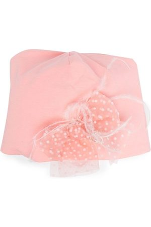 MISS BLUMARINE Bow-detail hat