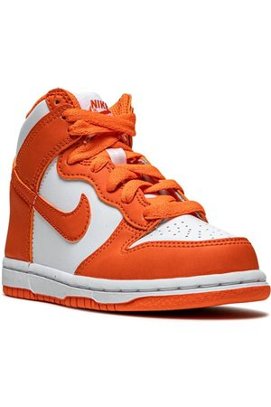 Nike Dunk High Syracuse leather sneakers