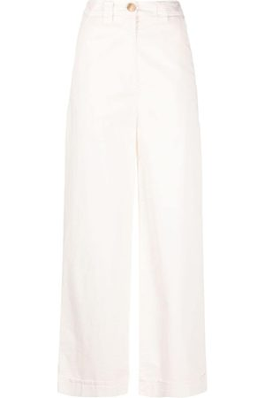 SEMICOUTURE High-waisted wide leg trousers