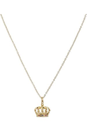 Dolce & Gabbana 18kt yellow crown pendant necklace