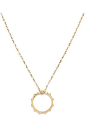 Dolce & Gabbana 18kt yellow love rosary band pendant necklace