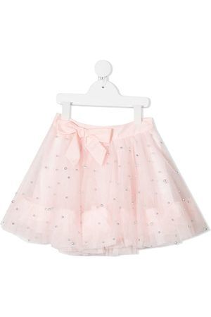 Charabia Ribbon tie tulle skirt