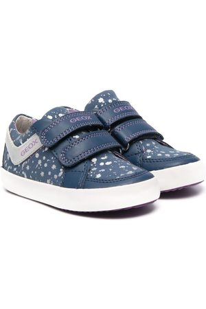 Geox Logo touch-strap sneakers