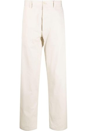 Maison Margiela Straight-leg cotton chinos