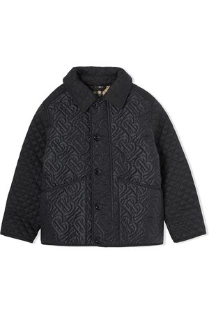 Burberry Monogram quilted bomber jacket