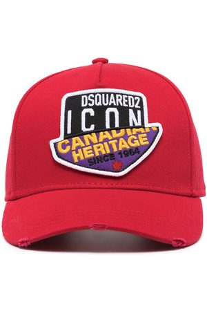 Dsquared2 Logo-patch baseball cap