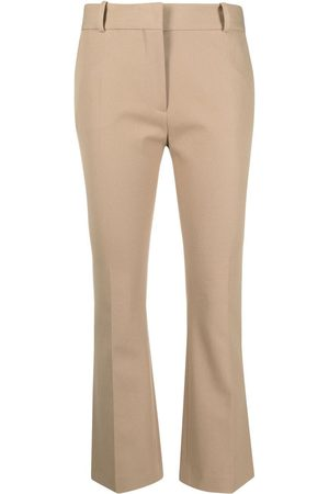 Frame Cropped flare trousers