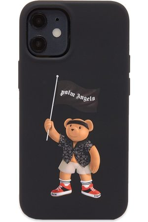 Palm Angels Men Phone Cases - Pirate Bear iPhone 12 Case