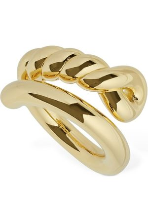 Bottega Veneta Twisted Thick Ring