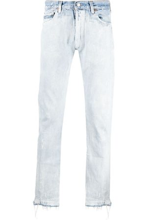 GALLERY DEPT. Bleached straight leg jeans