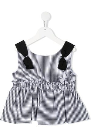 MONNALISA Girls Vests & Camis - Striped pleated vest