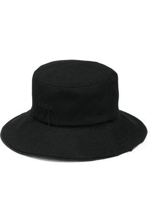 Ader Error Hats - Wide-brim bucket hat