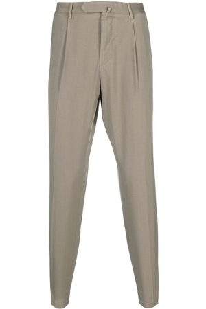 DELL'OGLIO Men Chinos - Concealed-front trousers