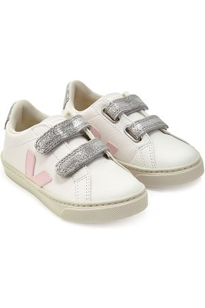 Veja Girls Sneakers - Logo touch-strap sneakers