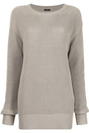 Joseph Women Jumpers - Ribbed-knit round neck jumper