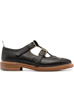 Thom Browne Women Brogues - 2-strap T-bar Mary Janes