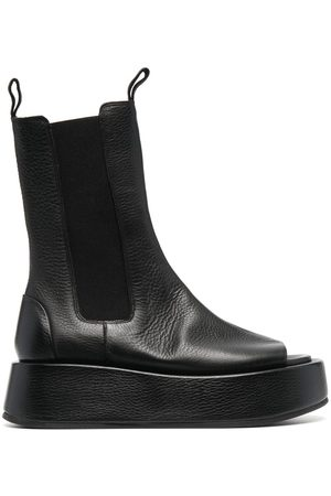 Marsèll Women Boots - Open-toe chunky leather boots