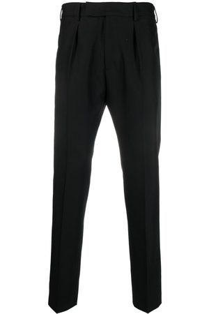 PT01 Men Formal Pants - Mid-rise tailored trousers
