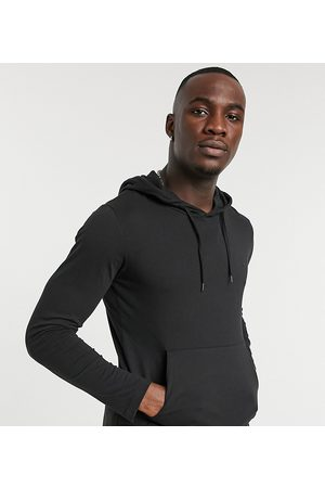 French Connection Men Long Sleeve - Long sleeve hooded top in