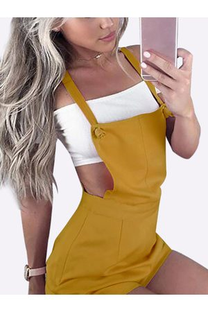 YOINS Casual Tie-Strap Playsuits in