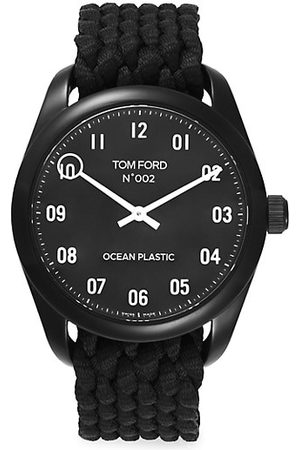 Tom Ford Watches - Stainless Steel & Ocean Plastic Watch