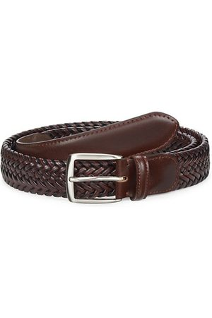 Saks Fifth Avenue COLLECTION Woven Leather Belt