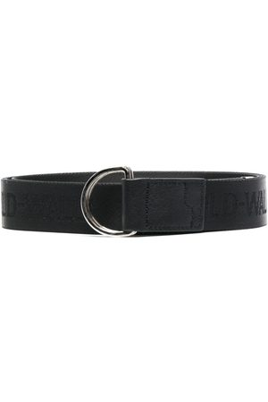 A-cold-wall* Logo band leather belt