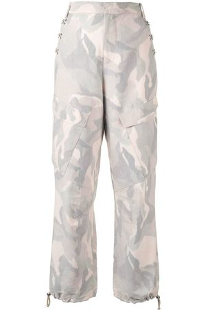 DION LEE Ikat camouflage trousers