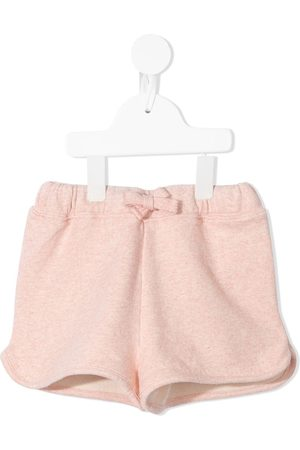 Bonton Embroidered-heart shorts