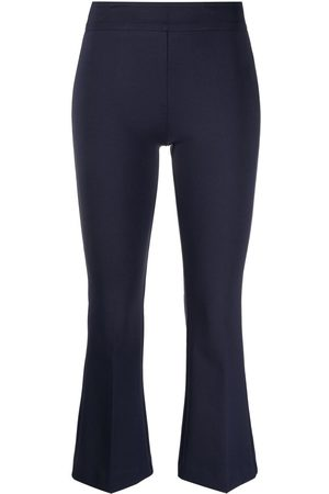 BLANCA Flared cropped leg trousers