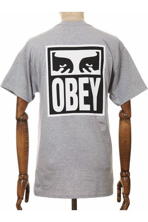 Obey Men T-shirts - Clothing Eyes Icon 2 Tee - Heather