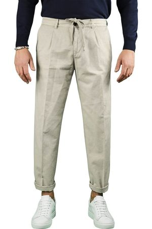 White Sand MEN'S 21SU070920 BEIGE OTHER MATERIALS PANTS