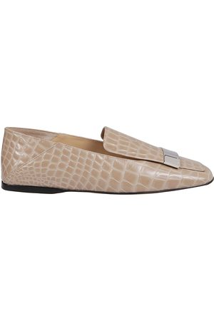 Sergio Rossi WOMEN'S A77990MMVS575703 OTHER MATERIALS LOAFERS