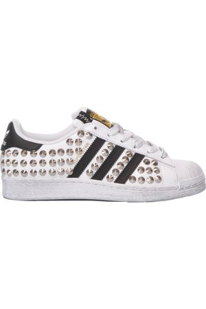 adidas WOMEN'S MIM163W LEATHER SNEAKERS
