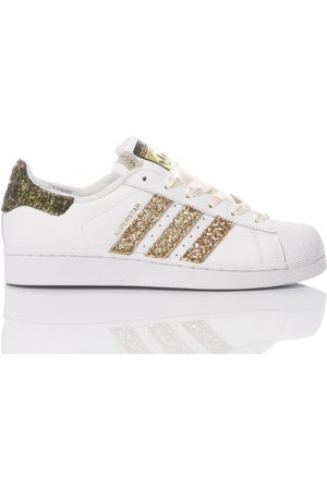 adidas WOMEN'S MIM1744 LEATHER SNEAKERS