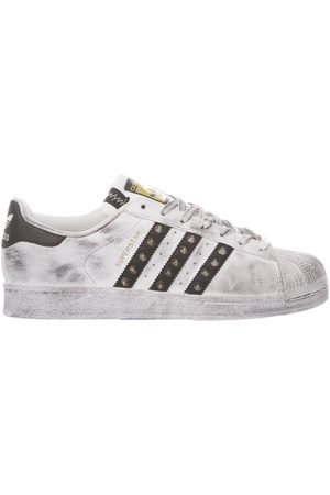 adidas WOMEN'S MIM1738 LEATHER SNEAKERS