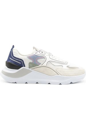 D.A.T.E. MEN'S M341FGCOWH LEATHER SNEAKERS
