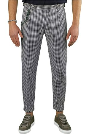 Berwich Men Chinos - RETRO VICHY CHINO TROUSERS