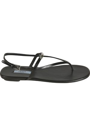 Prada WOMEN'S 1Y545M055F0002 LEATHER SANDALS