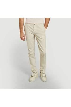 Cuisse De Grenouille Classic chino pants OFF-WHITE