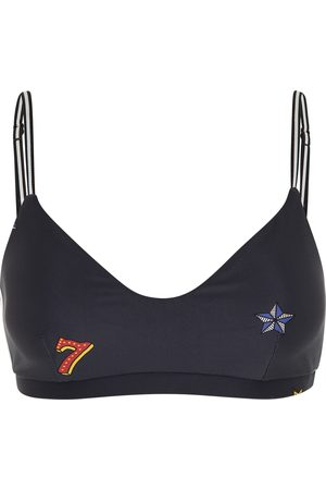 The Upside Women Sports Bras - Lucky Symbols Ballet Sports Bra