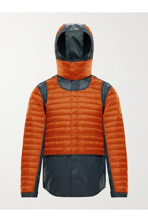 Moncler Genius 5 Moncler Craig Chrysemys Panelled Quilted Nylon Hooded Down Jacket