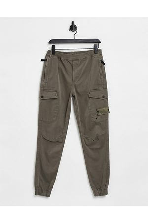 River Island Men Cargo Pants - Cargos in mink